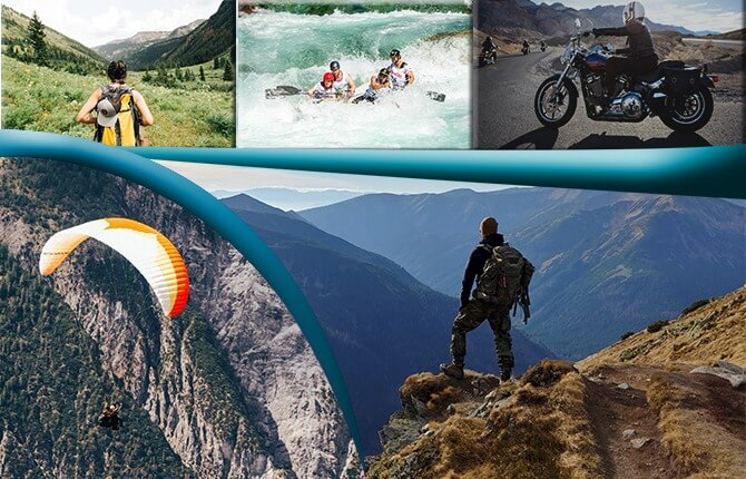 Adventure sports in Rishikesh