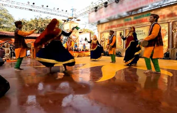 Chhapeli Dance Uttarakhand