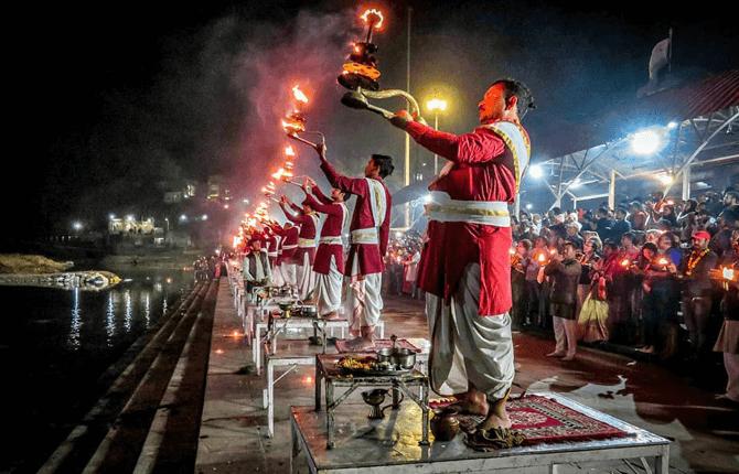 Ganga Arti Triveni Ghat