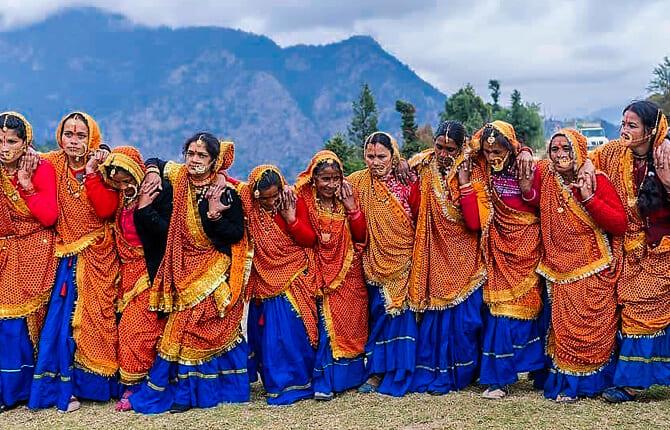 Jhumelo Dance Uttarakhand