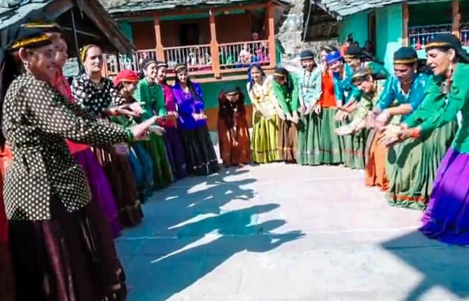 Langvir Dance Uttarakhand