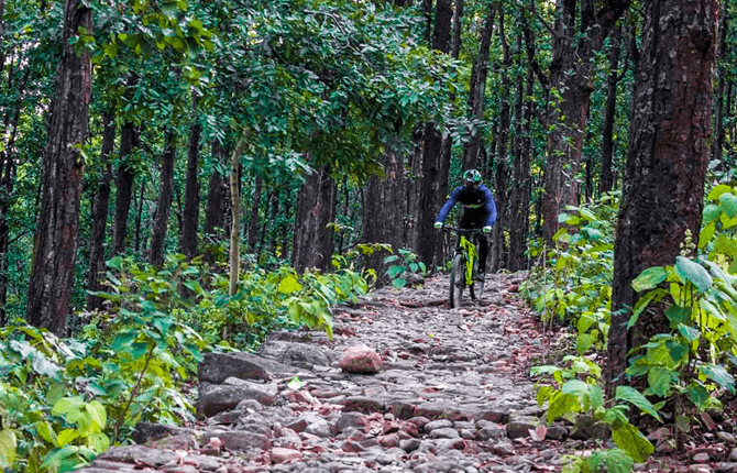 Mountain Biking in Rishikesh
